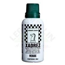 Corante Líquido Globo para Pigmentar Tinta Frasco 50 ml Xadrez Verde