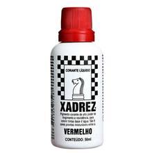 Corante Líquido Globo para Pigmentar Tinta Frasco 50 ml Xadrez Vermelho