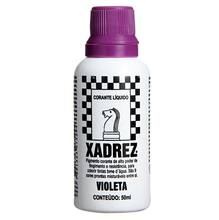 Corante Liquido Globo para Pigmentar Tinta Frasco 50ml Xadrez Violeta