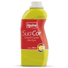 Corante Líquido Sua Cor Amarelo 500ml Iquine