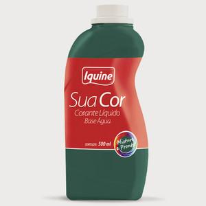 Corante Líquido Sua Cor Verde Intenso 500ml Iquine