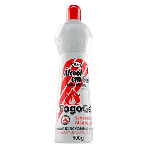Alcool gel para queima 500g fogogel start qu mica leroy for Gel transfer leroy merlin