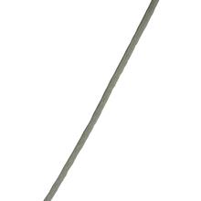 Corda Polietileno 2,5mm Trançada Monofilamento Branco