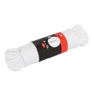 Corda Polietileno 6mm Torcida Monofilamento Saco 15m Standers