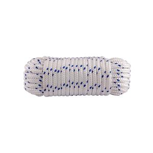 Corda polipropileno tran ada 10mmx10m azul e branco 500kg for Tende corda leroy merlin