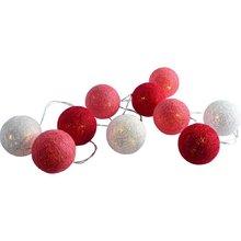 Cordão de Luz LED Inspire Hataru 3 Pilhas AAA Branco, Vermelho e Rosa