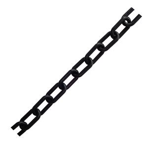 Corrente para Isolamento Elo Reto 5mm Preta Fixtil