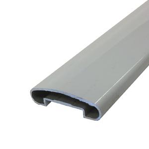 Corrimão Plano 1m Branco Decal Alumínio