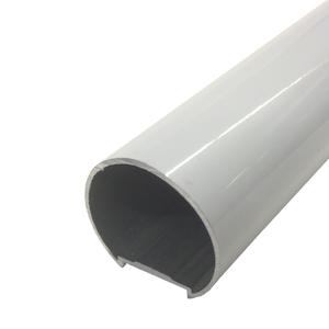 Corrimão Tubular 3m Branco Decal Alumínio