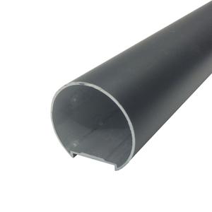 Corrimão Tubular 3m Preto Decal Alumínio