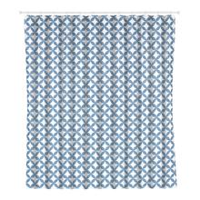 Cortina de Box Polietileno Azul 2x1,8m Corolle Sensea