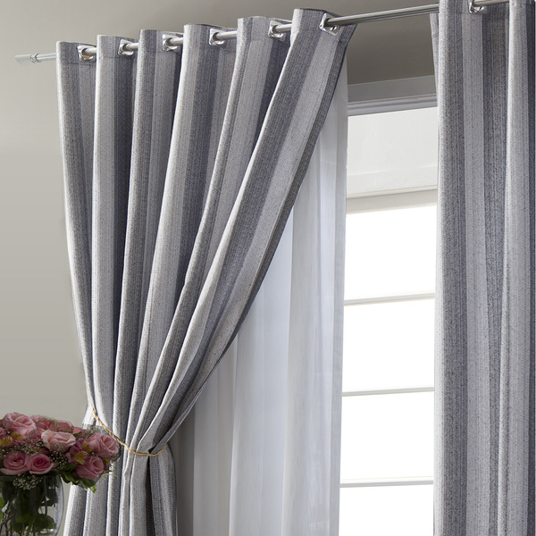 Cortina finestra cinza vem com 2 folhas de 2 70x2 60m - Cortinas venecianas leroy merlin ...