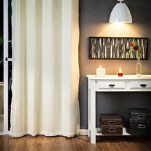 Cortina para Sala/Quarto Blackout Bege Marka Têxtil 2,40x2,80m 2 Folhas