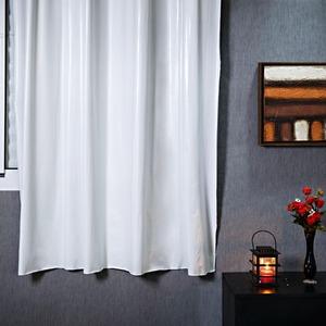 Cortina para Sala/Quarto Blackout Branca Marka Têxtil 1,80x1,40m 1 Folha