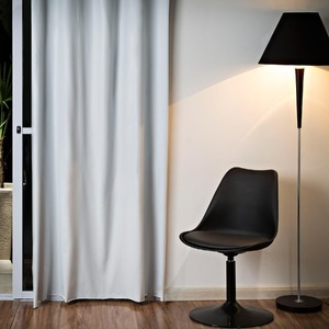 Cortina para Sala/Quarto Blackout Branca Bella Janela 2,60x1,35m 1 Folha