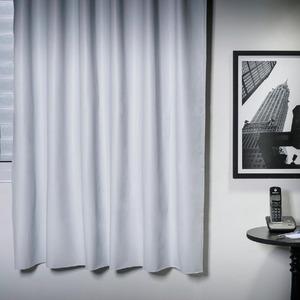 Cortina para Sala/Quarto Blackout Rodizio Branca Bella Janela 1,80x1,35m 1 Folha