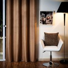 Cortina para Sala/Quarto Blackout Rústica Castor Marka Têxtil 2,60x1,40m 1 Folha