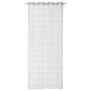 Cortina para Sala/Quarto Duani Branca Importada 2,60x1,40m 1 Folha
