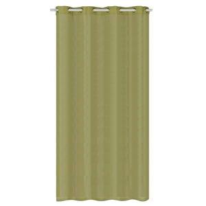 Cortina para Sala/Quarto Gada Verde Importada 2,80x1,40m 1 Folha Algodão