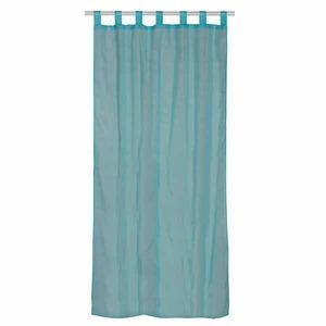 Cortina para Sala/Quarto Hidalgo Azul Importada 2,40x1,40m 1 Folha Poliéster