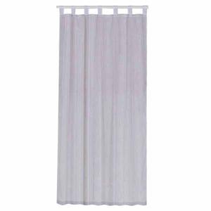 Cortina para Sala/Quarto Hidalgo Branca Importada 2,40x1,40m 1 Folha Poliéster