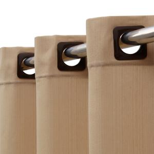 Cortina para Sala/Quarto Madras Bege 1,80x2,60m