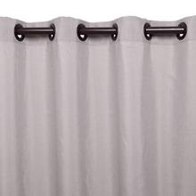 Cortina para Sala/Quarto Madras Cinza 1,80x2,60m