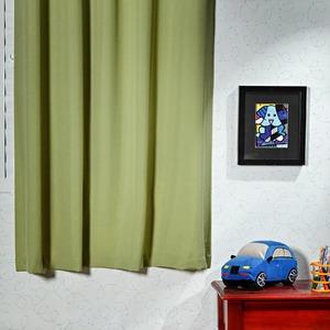 Cortina para Sala/Quarto Oxford Verde Bella Janela 1,80x2,60m 2 Folhas