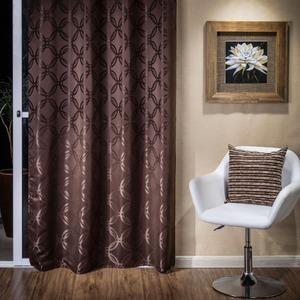 Cortina para Sala/Quarto Soft Café Evolux 2,40x1,40m 1 Folha