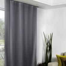 Cortina para Sala/Quarto Super Soft Prata 2,60x1,35m
