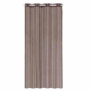 Cortina para Sala/Quarto Urbia Chocolate Importada 2,70x1,40m 1 Folha Poliéster