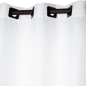 Cortina para Sala/Quarto Veneza Branca 1 Folha 2,60x1,50m
