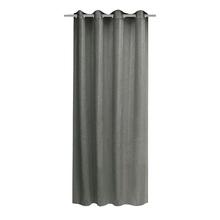 Cortina para Sala/Quarto Voil Ledis Cinza 2,60x1,40m