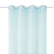 Cortina para Sala/Quarto Voil Liza Azul 2,60x1,40m