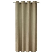Cortina para Sala/Quarto Worek Solid Bege 2,60x1,40m