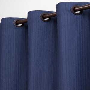Cortina Pipa Azul com 2 folhas de 1,30x1,80m