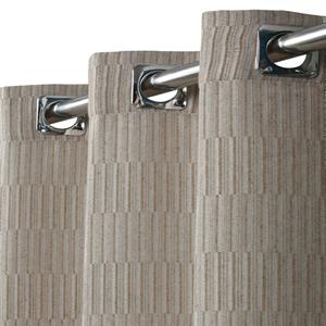 Cortina Pipa Bege com 2 folhas de 1,30x1,80m