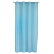Cortina Voil Flavina 140x260 cm Azul