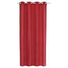 Cortina Voil Flavina 140x260 cm Vermelha