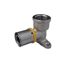 "Cotovelo com Base Fixa para Aquecedor de Água a Gás 20mm 1/2"" Astra"
