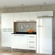 Cozinha Completa 2,6cm Branca Mirian Luciane