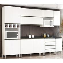 Cozinha Modular Branca Matte Basic 2,90cm Spring