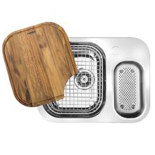 Cuba de Cozinha Dupla 18x0,5x62cm Inox Alto Brilho Franke