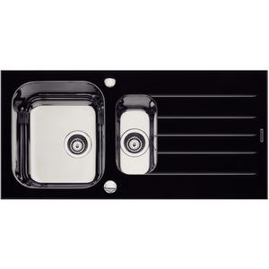 Cuba de Cozinha Simples 17,8x50x100cm Aço Inox e Vidro Tramontina