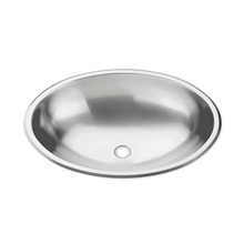 Cuba de Embutir Metal Oval Cinza 40X27X12,5cm Tramontina