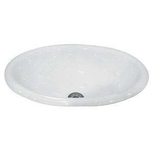 Cuba Sobrepor Il66 Oval Porcelana Branca Icasa