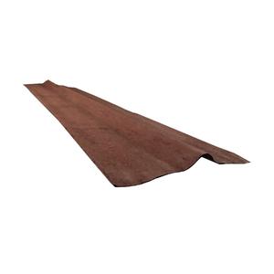 Cumeeira Ecológica Marrom 1,60x0,40cm Tecolit