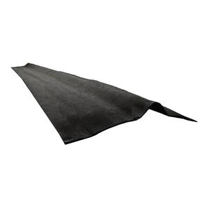 Cumeeira Ecológica Preta 1,60x0,40cm Tecolit