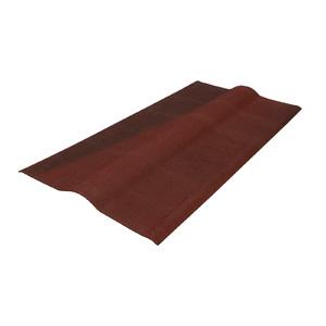Cumeeira Onduvilla Vermelho Mesclado 0,48x0,90m Onduline