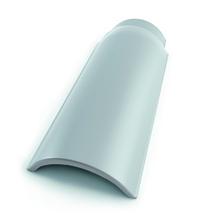 Cumeeira Perkus Silver/Platina 17x42cm Perkus